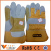 Cow Split Mens Leather Safety Hand Protection Welding Work Gloves