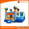 Commercial Balloon Toy Inflatable Jumping Bouncer Castle with Slide (T3-112)