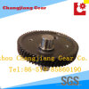 Forging and Carburizing Transmission Steel Bevel Gear with Shaft
