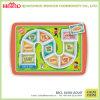 Cartoon Print 12′′ Devided Melamine Kids Plate