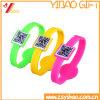 Custom Qr Code Silicone Wristband/RFID Wristband