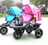 High Quality 3-Wheels Dog Outdoor safety Pet Stroller