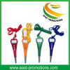 2017 Cheap Bottle Opener Plastic Ball Point Pen with Neck Rope