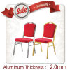 High Quality Low Price Aluminum Frame Hotel Banquet Chair Dining Chair