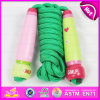 2015 Hot Sale Promotional Wooden Speed Jumping Rope Toy for Kids W01A118