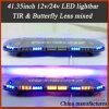 41.35 Inch LED Strobe Lightbar with Mixed Lens (TBD-GC-811L-5C)