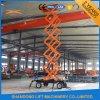 Hydraulic Vertical Electric Telescopic Ladder Man Scissor Lift