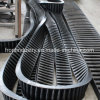 Corrugated Sidewall Conveyor Belt Used on Large Angle Conveying
