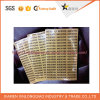 Label Printing Service Word Transparent Adhesive Printed Paper Adhesive Sticker