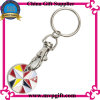 Customized Metal Key Ring with Trolley Coin Gift