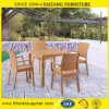 Rattan Look Outdoor Plastic Chair Garden Chair