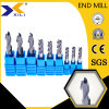 HRC45/55/60/65/68 Ball Nose/ Flat/ Square Solid Carbide End Mill