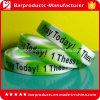 Personalized Logo Slik Printing Bulk Custom Bracelet