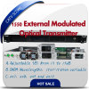 Hfc Network 1550nm Fiber Optical Transmitter Externally Modulated Transmitter