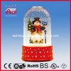 2015 Hotsale Cute Snowman Doll Christmas Decoration with Transparent Case
