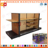 New Customized Supermarket Retail Display Wooden Rack (Zhs259)