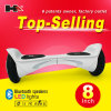 China Hoverboard Electric Skateboard 8 Inch 2 Wheel Hoverboard with Bluetooth Speaker