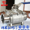 Clamped 3PC Ball Valve with Locking Handle