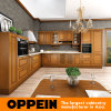 Oppein 2015 Classic L Style Brown Kitchen Cabinets (OP15-006)