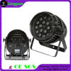 Outdoor 18X18W RGBWA+UV 6in1 LED PAR Zoom