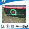 Target Net Game Below Trampoline