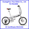 20 Inch Magnesium Wheel Folding E Bike with Hidden Battery