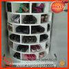 Custom High Grade Room Decoration Wooden Shoes Display Storage Rack