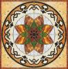Flower Pattern Carpet Tile Polished Crystal Ceramic Floor Tile 1200X1200mm (BMP21)