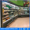 Dairy/Drink/Vegetable/Fruits Multideck Open Display Air Cooler for Supermarket