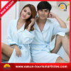New Design Plain Couple Bathrobe Women and Men Bathrobe, Cotton Bathrobe