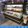 Semi-Multideck Fruits Open Display Cooler for Supermarket