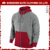 Latest Sweater Designs for Men Women Wholesale Hoodies Red and Grey (ELTHI-40)