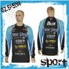 Custom 100%Polyester Fishing Jersey with Full Printing