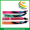 Custom Promotional Cheap Fabric Polyester Woven Wristband From China