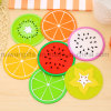 Wholesale Fruit Shape Rubber Drink Coasters, Cup Coaster