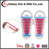 No Tie Colourful Lazy Elastic Flat Sneakers Silicone Shoelace
