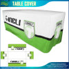 Qualtiy Printing 300d Woven Polyester Fitted Table Cloth Cover