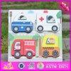 2017 Wholesale Wooden Toddler Puzzles, Shape Learning Wooden Toddler Puzzles, Best Car Shape Wooden Toddler Puzzles W14D022
