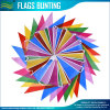 Multicolor Plastic Bunting Banner 30 Flags Indoor/Outdoor Party Decoration 36FT