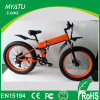 Folding Hummer Fat Ebike with Front and Rear Suspention
