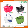 Supermrket Plastic Baskets with Handles