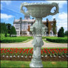 Stone Flower Pot, Garden Flower Pot, Marble Flower Pot (GS-FL-008)