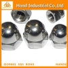 Ss304/316 DIN1587 Hex Domed Cap Nuts