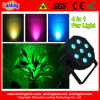 4 in 1 10W Flat LED PAR Light DJ Lights