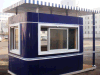 China Pop Hot Sale Sentry Box Flat Roof Small House Plans