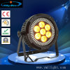 126 *1W SMD 4in1+7*12W 6in1 RGBWA UV LED Stage Flat PAR Lighting