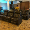2017 Hot Sale Luxury Home Theater Chair VIP Cinema Lether Chair for Sale