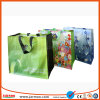 Fashionable Colorful Free Design Supermarket Shopping Bags