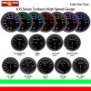2.5′′ (60mm) Auto Gauge 7-Color LED Display High Speed Gauge Pm Motor Gauge (635)