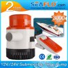 3000pH 12V DC Mini Battery Submersible Sea Water Bilge Pump